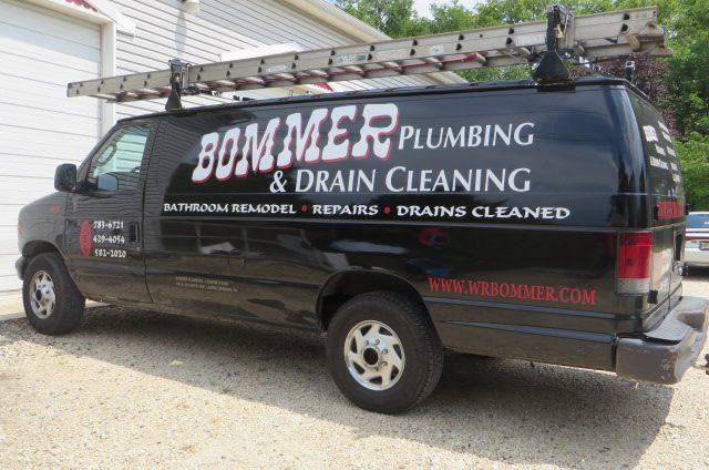 bommer plumbing truck