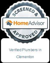 home advisor verified plumber in clementon NJ